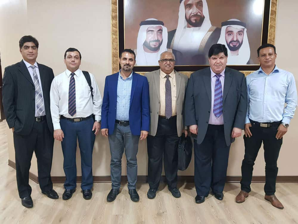 A Delegation from Bureau Veritas visited Emirates College of Technology